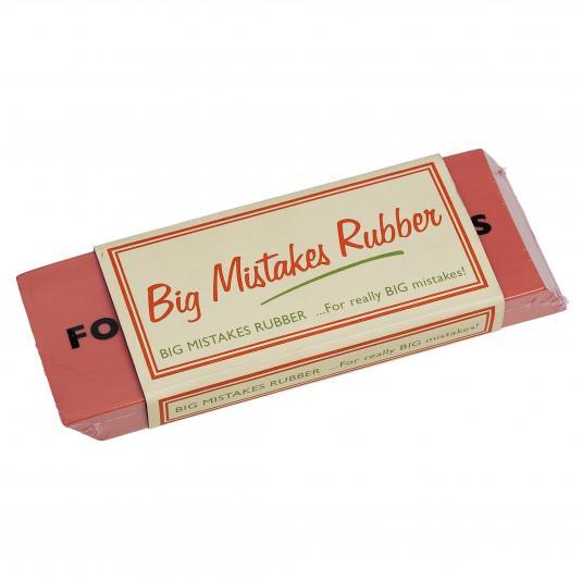 Big Mistakes big eraser