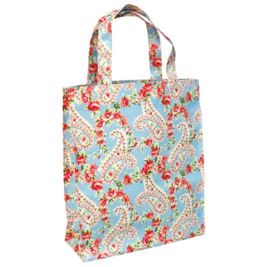 Paisley Park Oilcloth Shopping Bag