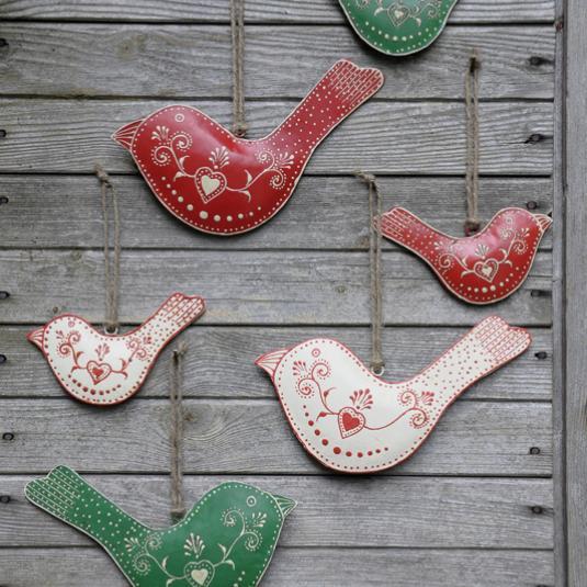 Rustic Bird Decorations