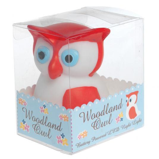 Woodland Owl Night Light