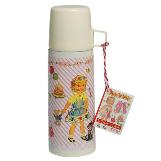 Dolly Girl Flask And Cup