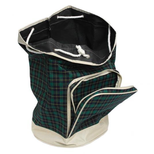 Green Tartan Duffle Bag