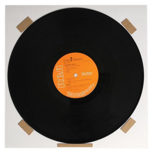 Double Album Record Frame