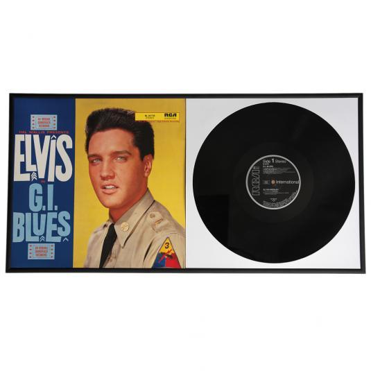 Record Album Frame Double