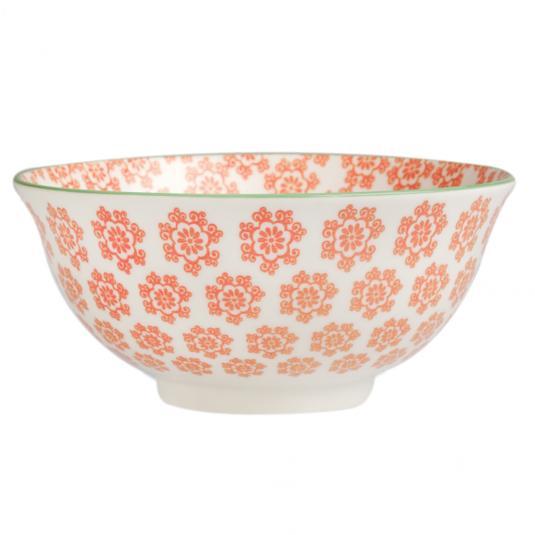 Large Japanese Bowl Poppies
