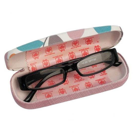 Vintage Ivy Hardshell Glasses Case & Cleaning Cloth