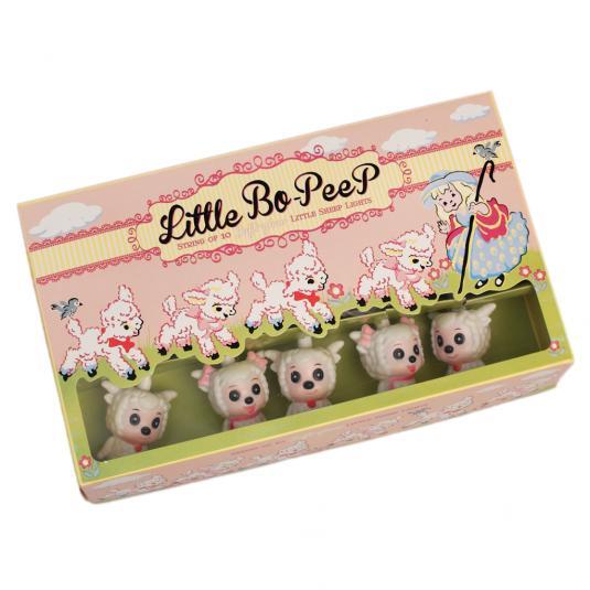 Little Bo-peep Sheep Lights British Standard 3 Pin Plug