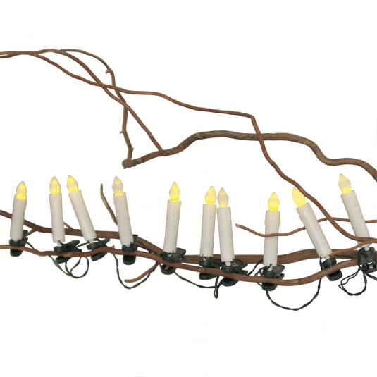 Flickering Christmas Candle Led Tree Lights Rex London