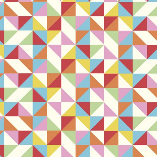 5 Sheets Of Multicolour Geometric Wrapping Paper