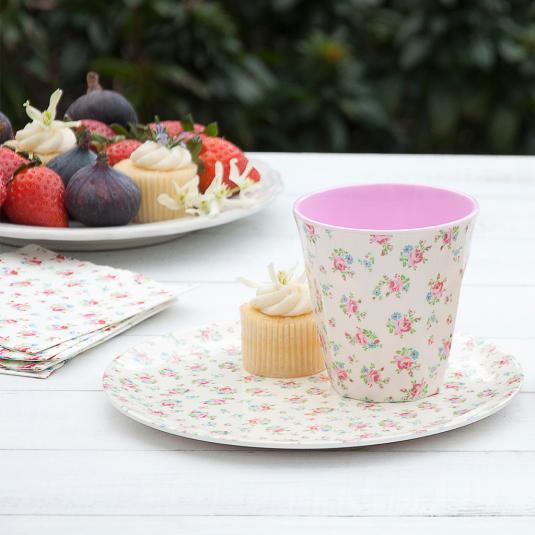 Melamine Tableware La Petite Rose Design