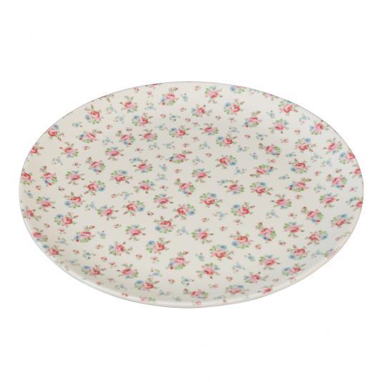 Melamine Plate La Petite Rose