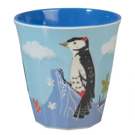 Melamine Tumbler Woodpecker