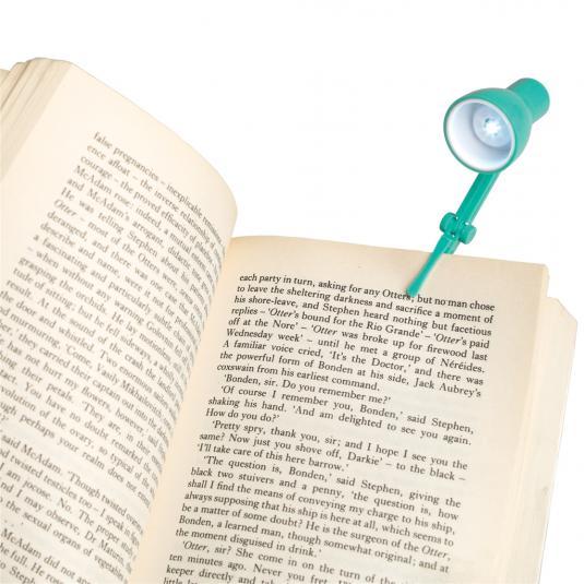 Mini Reading Book Lamp Mint Green