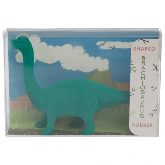 Green Dinosaur Pencil Eraser