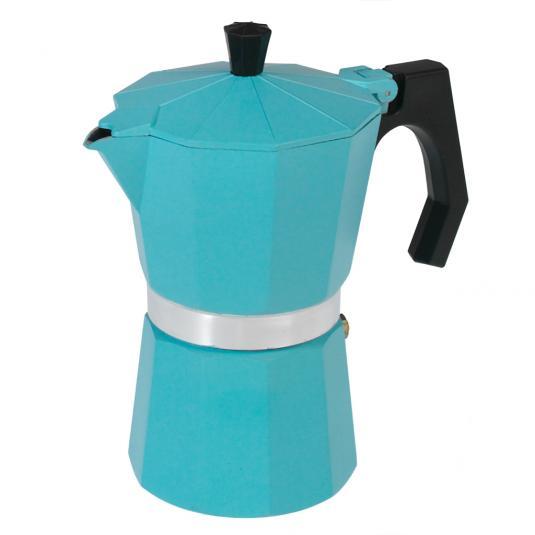 Classic Espresso Coffee Pot Turquoise