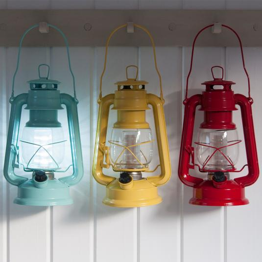 LED Battery Powered Hurricane Lamps