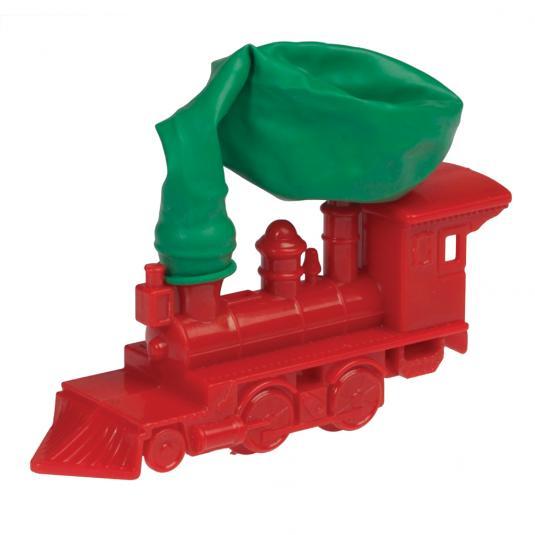 Balloon Powered Train Toy
