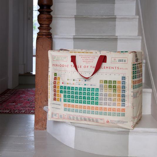 Periodic Table Design Jumbo Storage Bag