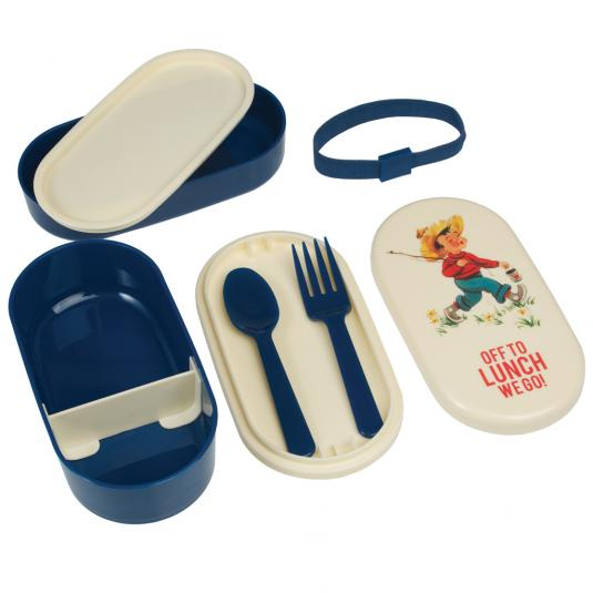 Vintage Boy Kids Lunch Box