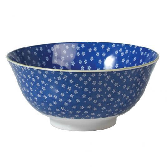 Large Japanese Style Bowl Petite Daisy