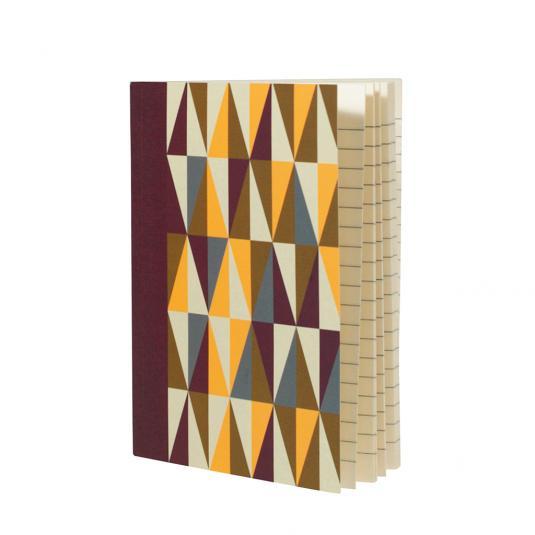 Metro Geometric A6 Notebook