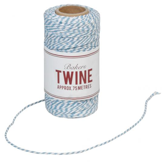 Bakers Twine Blue And White