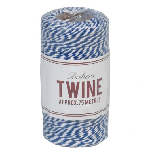 Bakers Twine Navy Blue And White