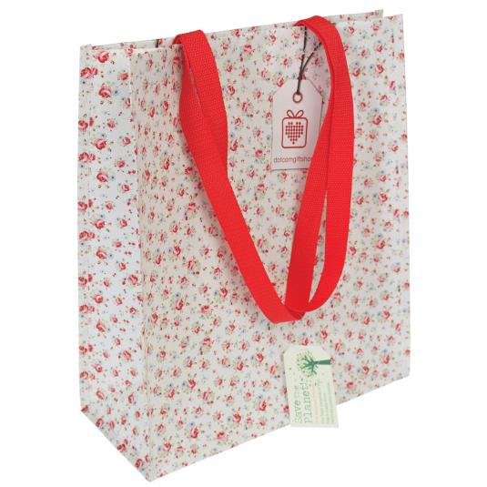 Dotcomgiftshop Branded La Petite Rose Shopper Bag