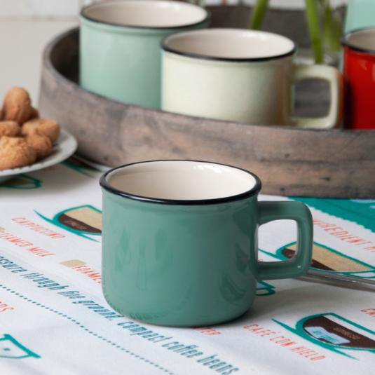 Turquoise Espresso Cup
