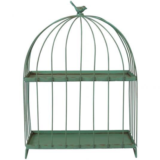 Vintage Birdcage Gazebo Shelf