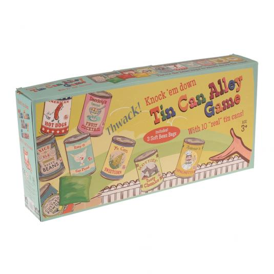 Tin Can Alley Game in a Gift Box