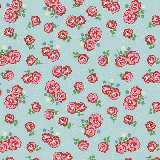 5 Sheets Of Vintage Rose Wrapping Paper