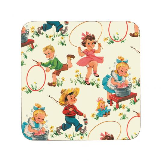 Vintage Kids Coaster
