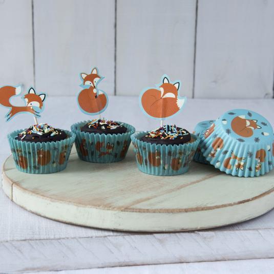 Rusty The Fox Cupcake Kit