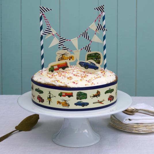 Cake Ornament Co Cake Art : Vintage Transport Cake Decorations dotcomgiftshop