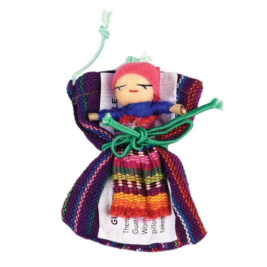 Handmade Guatemalan Worry Doll