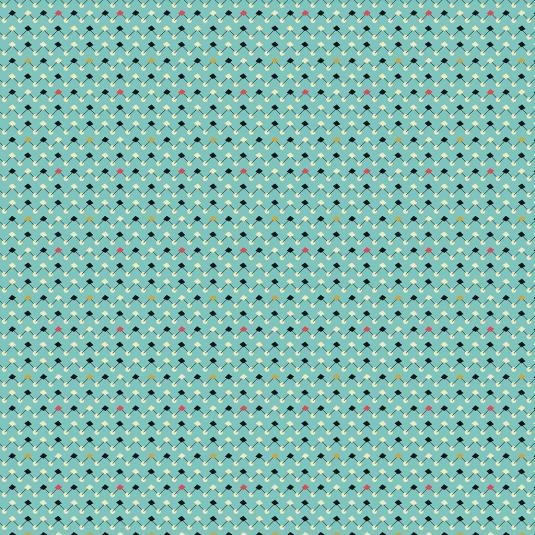 Atomic Blue Wrapping Paper