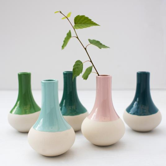 Small Dipped Vases