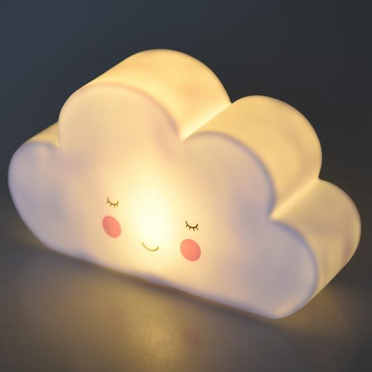 smiling cloud night light