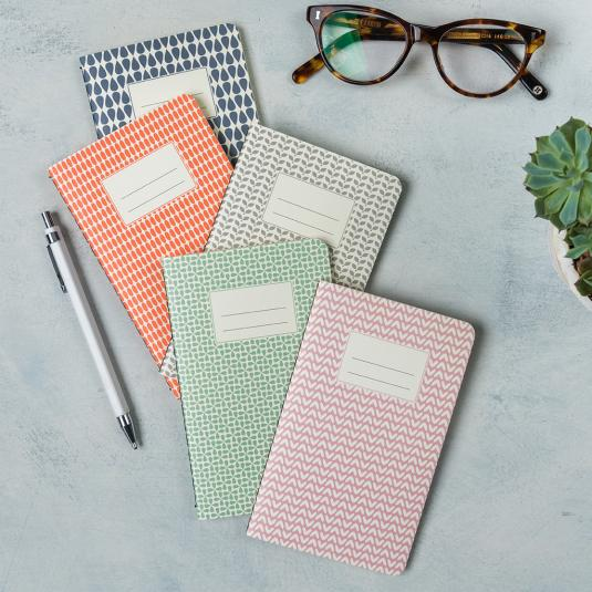 Small Abstract Notebooks