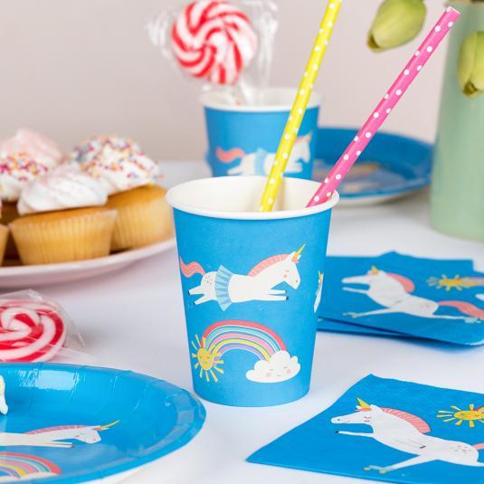 Magical Unicorn Paper Cups