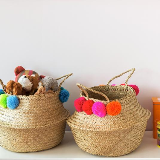 Belly Basket Home Storage