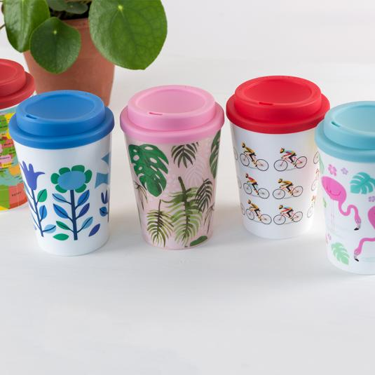 plastic travel cups with lid