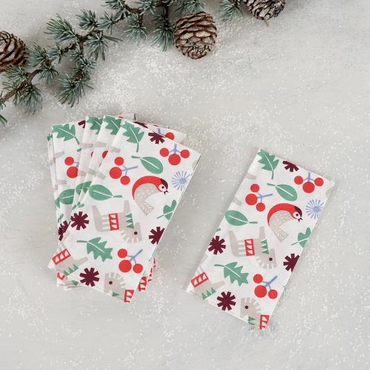 Scandinavian design packet of tissues