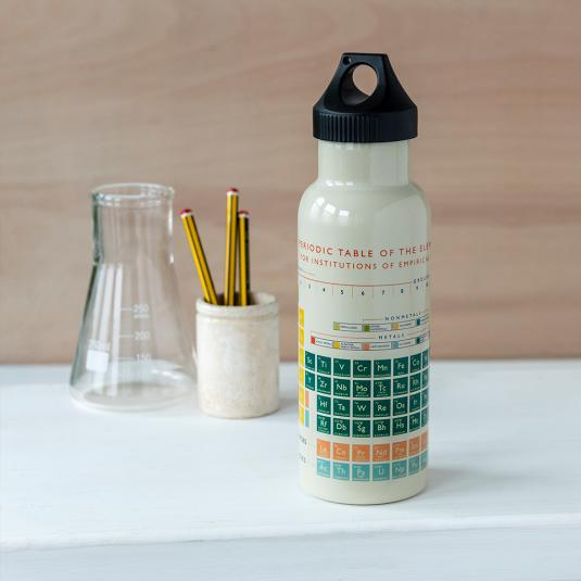 Periodic Table Stainless Steel Sports Bottle