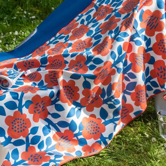 Astrid Flower Microfibre Towel