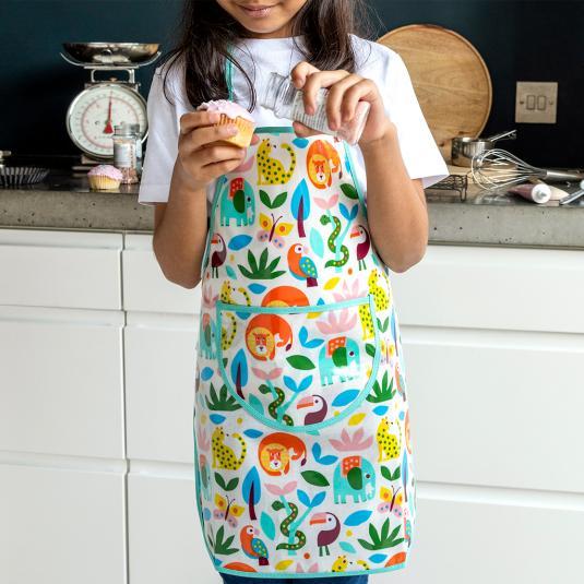 Wild Wonders children's apron