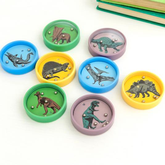 dinosaur tilt puzzles game