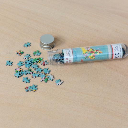 World Map 150pc Mini Puzzle
