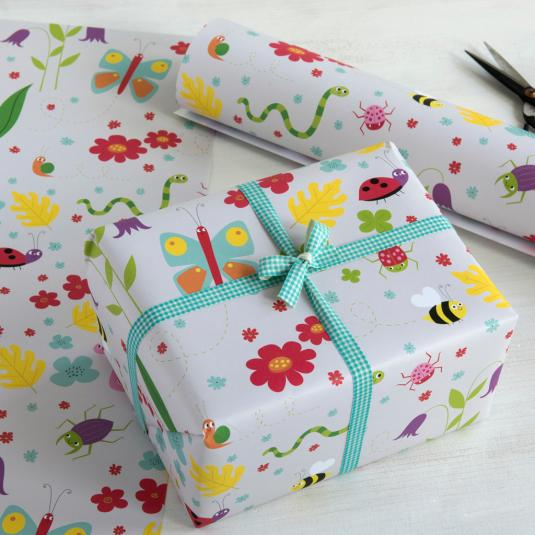 Garden Friends Gift Wrap